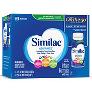 Similac Advance On-The-Go Infant Formula With Iron (0-12 Months) 6 Pack