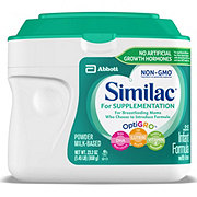 Similac For Supplementation Infant Formula Powder with Iron
