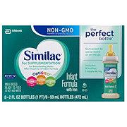 Similac For Supplementation Infant Formula with Iron 2 OZ Bottles