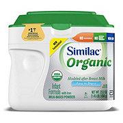 Similac Organic Infant Powder Formula With Iron (0-12 Months)