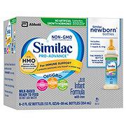 Similac Pro-Advance Infant Formula with Iron - NewBorn Ready to Feed Bottles 8 ct