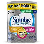 Similac Pro-Advance Non-GMO Infant Formula Powder with Iron