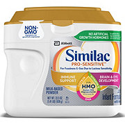 Similac Pro-Sensitive For Fussiness and Gas Non-GMO Infant Formula Powder with Iron