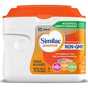 Similac Sensitive For Fussiness and Gas Non-GMO Infant Formula Powder with Iron