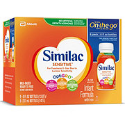 Similac Sensitive For Fussiness and Gas Ready-to-Feed Infant Formula with Iron 6 pk