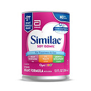 Similac Soy Isomil For Fussiness and Gas Concentrated Liquid Infant Formula with Iron