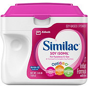 Similac Soy Isomil For Fussiness and Gas Infant Formula Powder with Iron