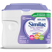 Similac Total Comfort Non-GMO Infant Formula Powder with Iron