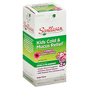 Similasan Kids Cold And Mucus Relief Multi-Symptom Syrup Kids 2 & Up