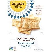 Simple Mills Ground Salt Almond Flour Crackers
