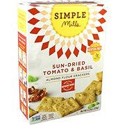 Simple Mills Tomato Basil Almond Flour Cracker
