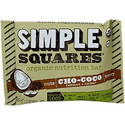 Simple Squares Organic Chocolate Coconut Snack Bar
