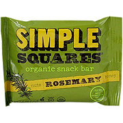 Simple Squares Organic Rosemary Snack Bar
