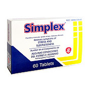 Simplex Homeopathic Stress & Sleeplessnes Relief Tablets