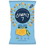 Simply 7 Jalapeno Lentil Chips