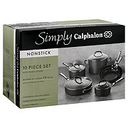 Simply Calphalon Nonstick Set with Glass Covers