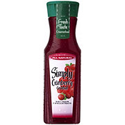 Simply Cranberry Cocktail