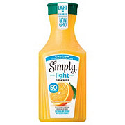 Simply Light Orange Juice Pulp Free With Calcium