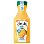 Simply Orange Light Pulp Free Orange Juice