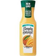 Simply Orange Pulp Free Orange with Mango 100% Juice Blend