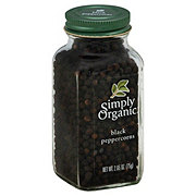 Simply Organic Black Peppercorns