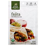 Simply Organic Fajita Seasoning
