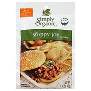 Simply Organic Sloppy Joe Seasoning