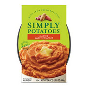 Simply Potatoes Mashed Sweet Potatoes With Brown Sugar and Cinnamon