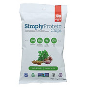 Simply Protein Chips Herb & Garlic