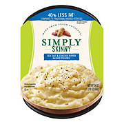 Simply Skinny Cracked Black Pepper Mashed Potatoes