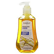 Simply U Antibacterial Liquid Hand Soap Original Scent