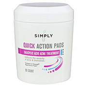 Simply U Quick Action Acne Pads