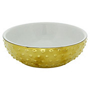 SimplyCat Gold Dots Ceramic Bowl Small