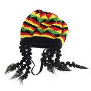 SimplyDog Rasta Locks Hat Costume