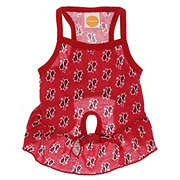 SimplyDog Red Bandana Print Strappy Dress Small