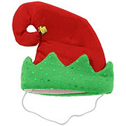 SimplyDog Red Green Elf Hat