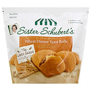 Sister Schuberts Wheat Dinner Yeast Rolls