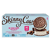 Skinny Cow Low Fat No Sugar Added Vanilla Ice Cream Sandwiches
