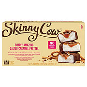 Skinny Cow Salted Caramel Pretzel Ice Cream Candy Bars
