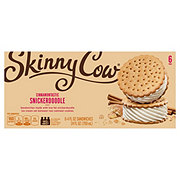 Skinny Cow Snickerdoodle Ice Cream Sandwiches