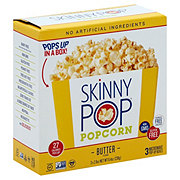 SkinnyPop Butter Microwave Popcorn Pop-Up Boxes