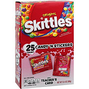 Skittles Valentine's Candy & Sticker Exchange Kit 25 ct