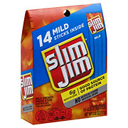 Slim Jim Mild Smoked Snack Sticks