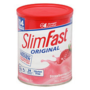 SlimFast 3-2-1 Plan Strawberry Supreme Shake Mix