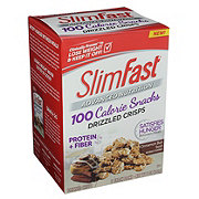 SlimFast Advanced Nutrition 100 Calorie Cinnamon Bun Swirl Drizzled Crisps