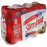 SlimFast Meal Replacement Shake, Cappuccino Delight