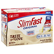 SlimFast Meal Replacement Shakes, French Vanilla
