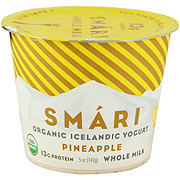 Smari Organic Icelandic Whole Milk Pineapple