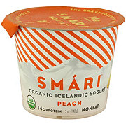 Smari Peach Organic Yogurt