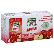 Smart Kids Organic Apple Juice Beverage 6 oz Pouches